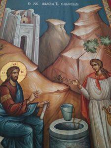 Πηγαίνοντας στα μέρη που περπάτησε, σταυρώθηκε ο Κύριος αγιαζόμαστε ενωνόμαστε μαζί Του. 18