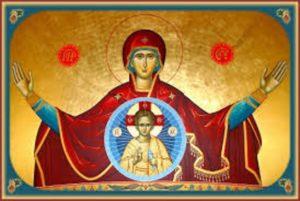 Η Υπεραγία Θεοτόκος είναι η πύλη της σωτηρίας μας, η σκέπη του κόσμου, μεσολαβεί για να ενωθούμε με το Θεό 8