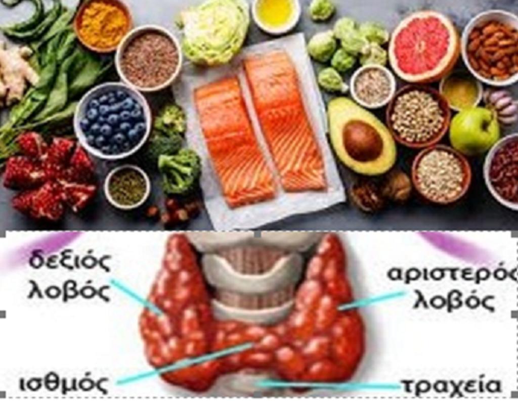 Διατροφή και εναλλακτικοί τρόποι για να απαλλασσόμαστε από τα προβλήματα του θυρεοειδή αδένα. 49